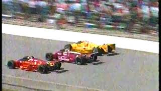 Photo of Auto Racing – 1987 – Indy 500 – ABC Jim Lampley Covers The Indy 500 Field Starting Row By Row