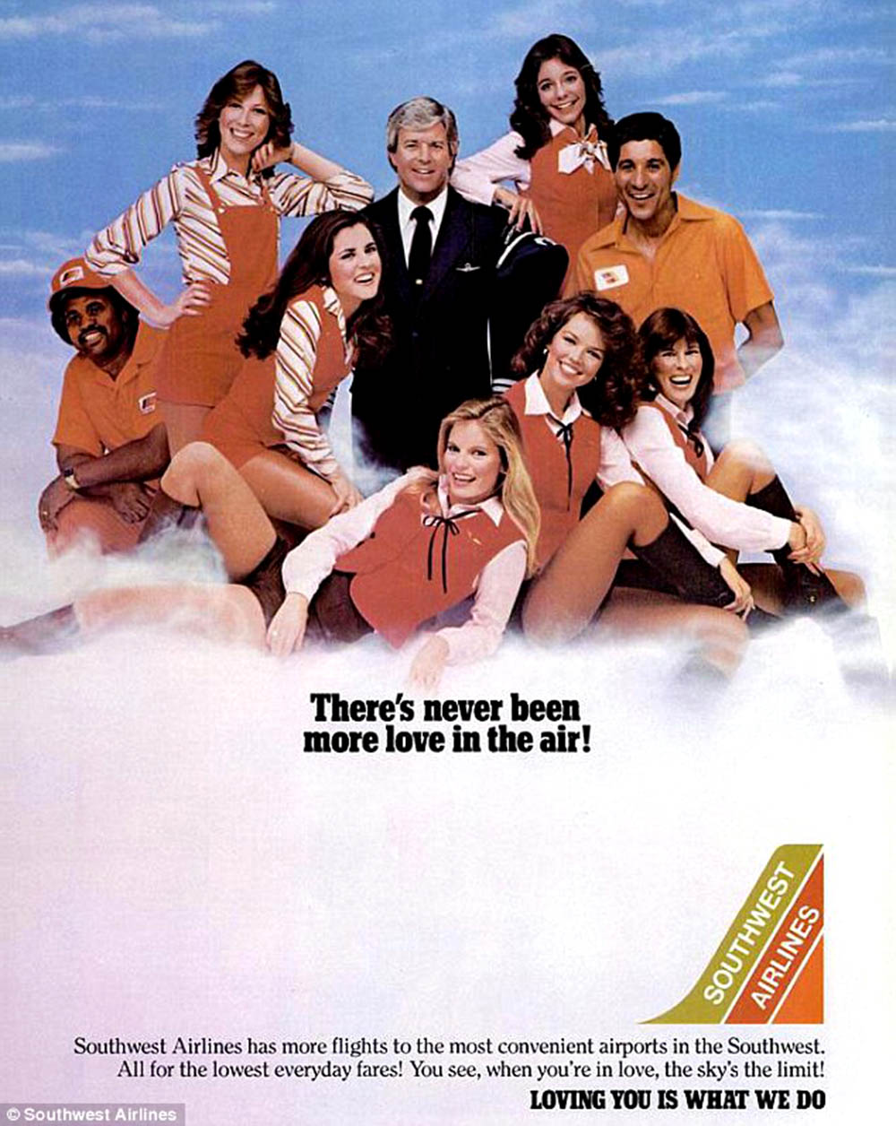Photo of TV Ads – 1977 – Winchells Donut Shops + Southwest Airlines + Six Flags Over Texas + Dunlop Tires