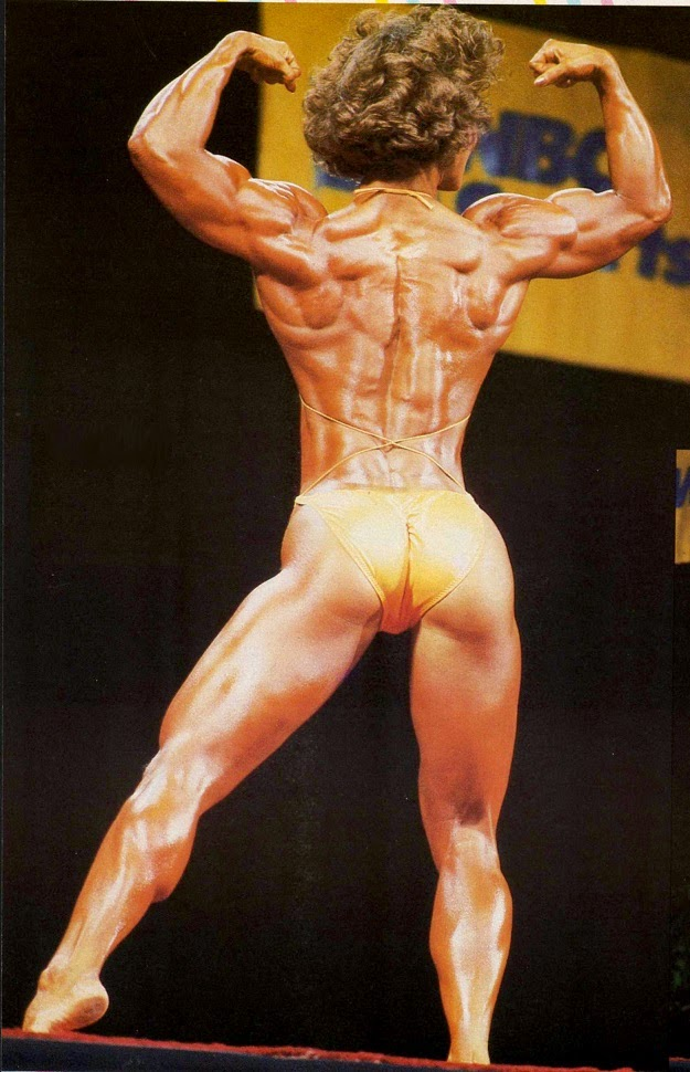 Photo of Body Building – 1986 – I F B B Ms Olympia Championships – Featuring Clare Furr – With Dorothy Lucey