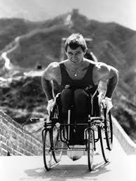 Photo of Distance Running – 1985 – The Incredible Man In Motion World Tour Of Disabled Athlete Rick Hansen