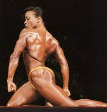 Photo of Body Building – 1985 – I F B B Ms Olympia Competition – Featuring Carla Dunlap – With Dorothy Lucey