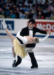 Photo of Figure Skating – 1986 – World Championship Ice Dance Competition – CAN Tracy Wilson + Robert McCall