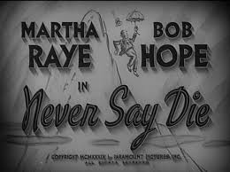 Photo of Comedy – 1983 – Bob Hope + Martha Raye Stand Up Duet + Excerpt From 1939 Movie Never Say Die