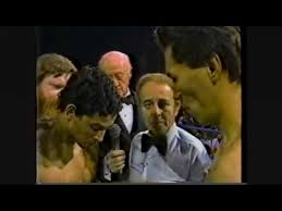 Photo of Boxing – 1983 – 10 Rnd Lightweight Bout – John Montes Vs Hector Camacho – With Tim Ryan + Gil Clancy