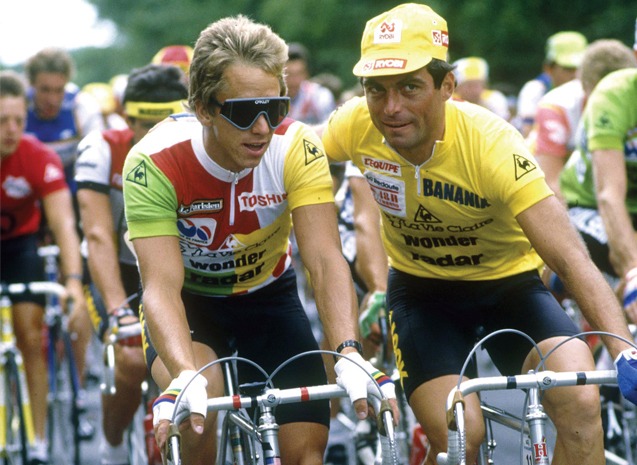 Photo of Cycling – 1986 – Tour De France – Intro To Day 10 & The Pyrenees Mtns With John Tesh + Phil Liggett