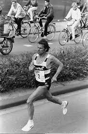 Photo of Distance Running – 1985 – Highlites – Mens & Womens Marathon WR – Carlos Lopes  + Ingrid Kristiansen