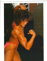 Photo of Body Building – 1985 – I F B B Ms Olympia Championships – Featuring Lori Bowen Rice Competitor