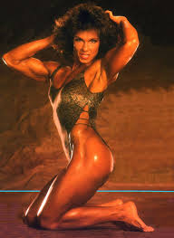 Photo of Body Building – 1987 – US Womens Championships – Featuring Mary Roberts – With Bruce Jenner