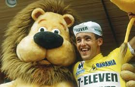 Photo of Cycling – 1986 – Tour De France Stage 1 – 53 Miles Of Nanterre To Sceaux – 7 Eleven Alex Stieda Wins