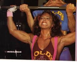 Photo of Body Building – 1986 – I F B B Ms Olympia Championships – Featuring Tina Plakinger – From MSG