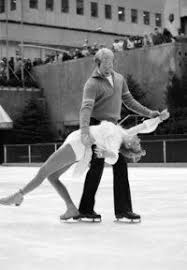 Photo of Figure Skating – 1981 – US Athletes In Review – JoJo Starbuck + Elaine Zayak -1981- With Bud Collins