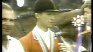 Photo of Equestrian – 1979 – Pan American Games – Ken Squires Interview Show Jump Winner USA Michael Masters