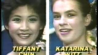 Photo of Figure Skating – 1985 – Hilites Women World Championahip – With DDR Katarina Witt + USA Tiffany Chin