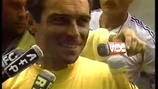 Photo of Cycling 1985 Tour De France John Tesh Reports On FRA Bernard Hinault Ride On The Champs-Elysee In Stage 22