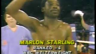 Photo of Boxing – 1983 – Tim Ryan Profile Careers Welterwts Marlon Starling + Kevin Howard Before USBA Title