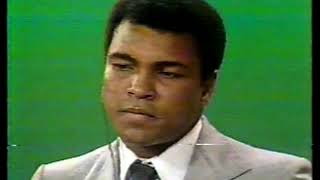 Photo of Boxing – 1978 – Muhammad Ali Post Fight Assessment Of Larry Holmes Vs Ken Norton With Frank Gifford
