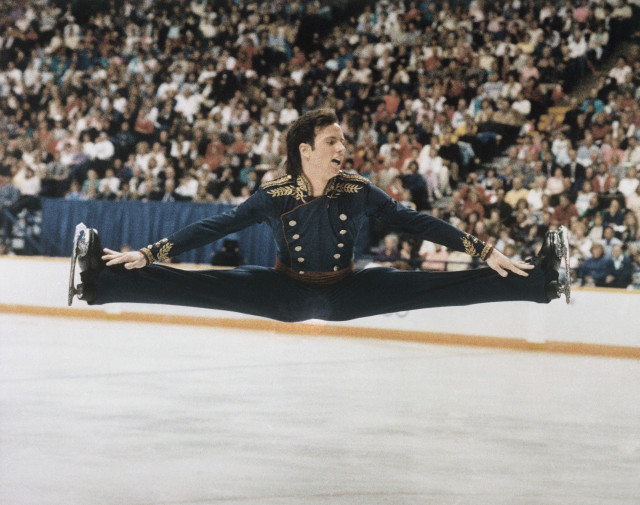Photo of Figure Skating – 1986 – John Misha Petkevick Interviews World Champ USA Brian Boitano After Finals