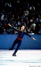 Photo of Figure Skating – 1986 – John Tesh Interview USA Brian Boitano Prior To Free Skate At The World Champ