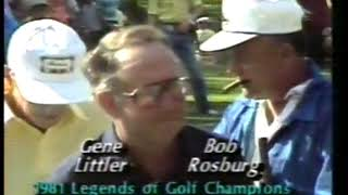 Photo of Golf – 1981 – Highlights – Legends Of Golf Tournament – Featuring Winners Gene Littler + Bob Rosburg