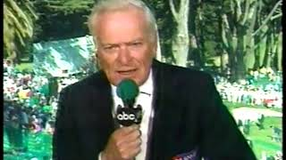 Photo of Golf – 1987 – ABC Sports US Open Special – Jack Whitaker Sums Up U S Open As A Reversal To The Norm
