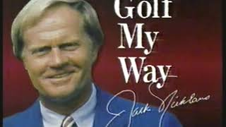 Photo of Golf – 1986 – PGA Championship Special – Jack Nicklaus Golf My Way – How To Hit  4 Long Grass Shots-