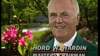 Photo of Golf – 1986 – Masters Special – Augusta National Chairman Hord W Hardin Invites All Viewers To Watch CBS Sports Coverage