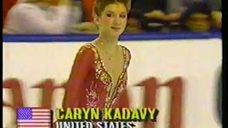 Photo of Figure Skating – 1987 – World Championship Ladies – Featuring USA Caryn Kadavy – With Scott Hamilton