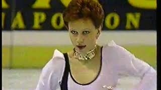 Photo of Figure Skating – 1987 – World Championship Ladies – Featuring USSR Kira Ivanova – With Tim Ryan