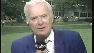 Photo of Golf – 1985 – ABC Jack Whitaker Provides Highlights Of The National Amateur Championship