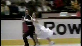 Photo of Figure Skating – 1986 – World Ice Dance Championships – USSR Marina Klimova + Serei Ponomarenko