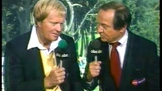 Photo of Golf – 1987 – US Open – Jim McKay Highlights 3rd Round + Interviews Jack Nicklaus After His  Round