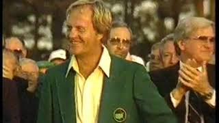 Photo of Golf – 1986 – CBS Sports Special – A Journey Through Time – Jack Nicklaus Last Four Holes At Augusta