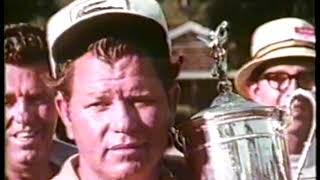 Photo of Golf – 1969 – Highlights Of The US Open Championship – With Winner Orville Moody + Arnold Palmer