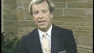 Photo of Golf – 1985 – Masters – Rnd 2 – Butler Cabin Analysis – Brent Musburger + Tom Weiskopf + Al Trautwig