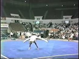 Photo of Gymnastics – 1985 – American Cup Championship – Men's Floor Exercise Finals – With USA Dan Hayden
