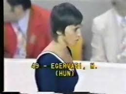 Photo of Gymnastics – 1977 – World Cup – Womens All Around Vault – HUN Marta Egervari – With Charlie Jones