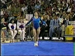 Photo of Gymnastics – 1985 – American Cup Championships – Womens Floor Exercise – USA Mary Lou Retton