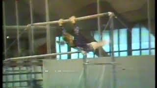 Photo of Gymnastics – 1977 – World Championships –  Womens Uneven Bars finals – USSR Elena Mukhina
