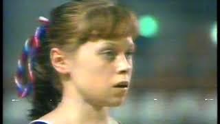 Photo of Gymnastics – 1977 – World Cup Championships – Womens All Around Vault – USSR Elena Mukhina