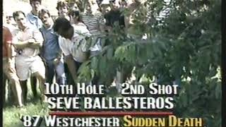 Photo of Golf – 1987 – Westchester Open Sudden Death – J C Snead Vs Seve Ballesteros – With Pat Summerall