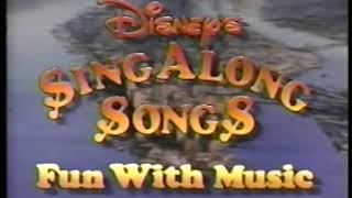 Photo of Music – 1989 – Walt Disney Fun With Music Sing Along Song – Scales + Arpeggios   With Professor Owl