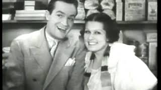 Photo of Music – 1934 – Bob Hope + Leah Ray – You're As Sweet As Molasses – Sung In 1934 Film Going Spanish