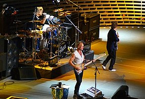 Photo of Music – 1982 – The Police With Sting – Living In A Material World