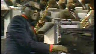 Photo of Music – 1980 – Ray Charles – Oh What A Beautiful Morning – Sung  Live On Stage At Austin City Limits