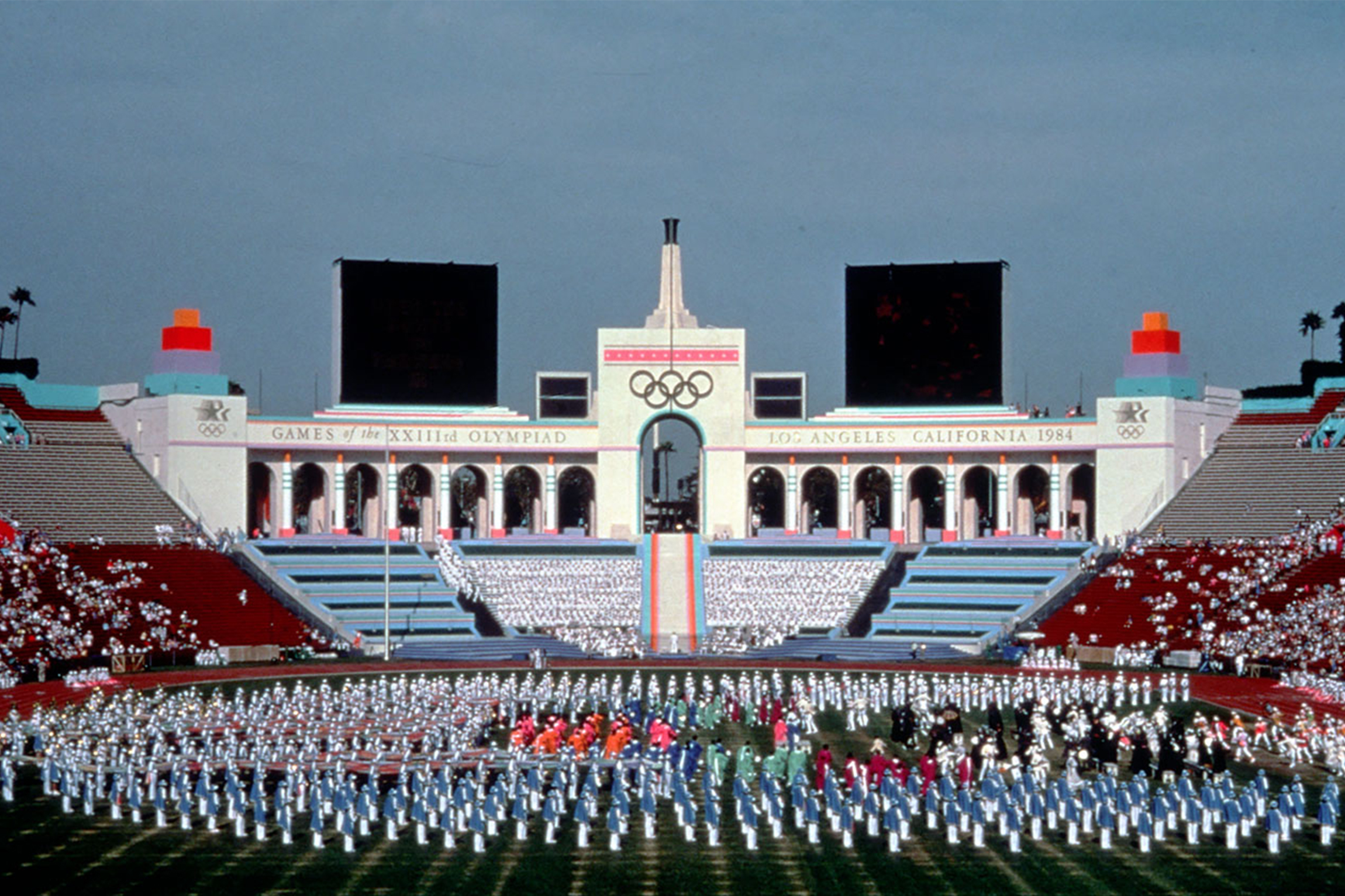 Photo of Music – 1984 – 800 Strong All American Olympic Band – Olympic Fanfare – Closing Ceremonies Of L A Games