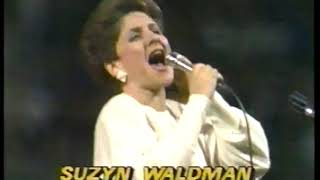 Photo of Music – 1986 – Suzyn Waldman – The Star Spangled Banner – At 1986 MLB ALCS Angels Vs Red Sox Game 7