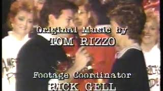 Photo of Music – 1985 – Donnie Osmond – You Are Ronalds Only Diamond – As He Sings To 1st Lady Nancy Reagan