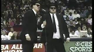 Photo of Music – 1988 – Blues Brothers Imitators – I Need You – During Timeout At The 38th NBA All Star Game