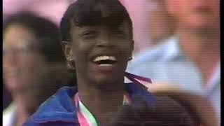 Photo of Music – 1984 – All American Olympic Band – Star Spangled Banner – USA Valerie Briscoe Hooks Gold Medal Ceremony Women 400m