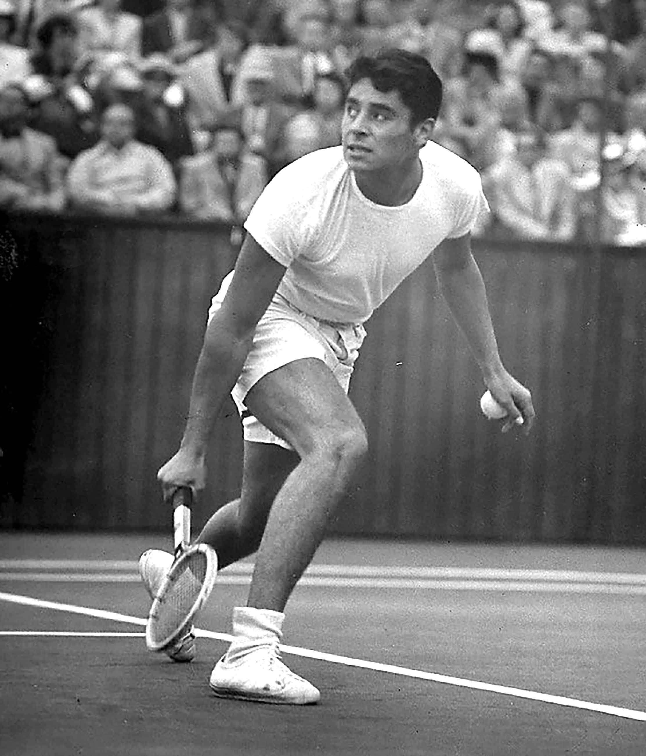 "Photo of L E's Stories – ""A Gigantic Serve And Tremendous Groundstrokes"" – My Tribute To Tennis Legend Pancho Gonzales"
